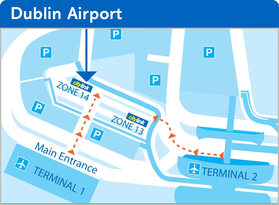 Bus Departure Points | Bus Pickup Points Dublin
