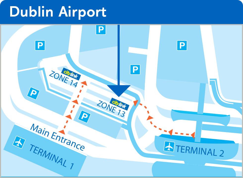 Bus Departure Points Bus Pickup Points Dublin