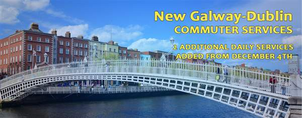 Galway Dublin Commuter timetable