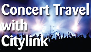 Concert travel with Citylink